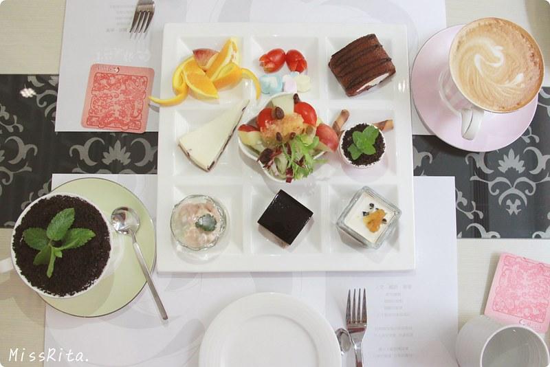 《食記》台中大坑‧雅風筑雲藝園餐廳 - MissRita's 旅行享樂手札