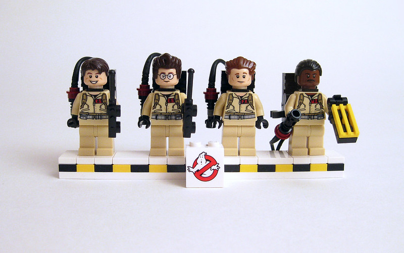 21108 Ghostbusters with gear