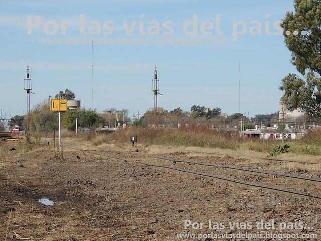Mejoramiento de vías, Km 421 FCGSM.