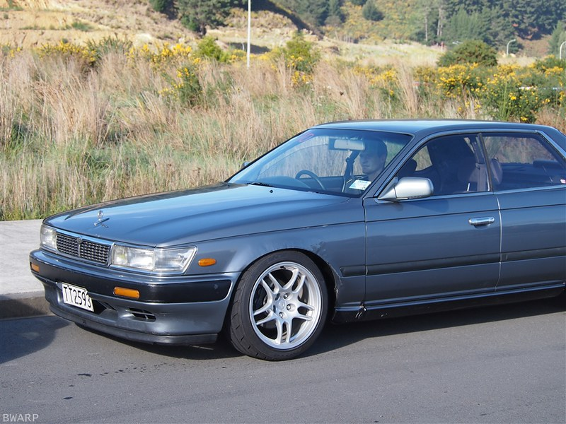 c33 nissan laurel with SR20DET and R33 GTR wheels