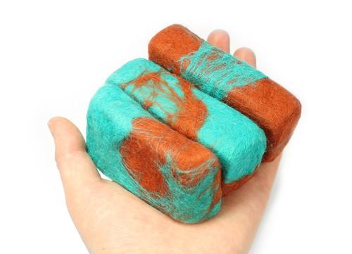 Handmade Felt Soap