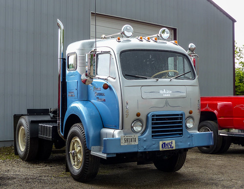 1965 White 4000 Semi Tractor : Flickriver j wells s photos tagged with bigrig