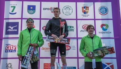 Vítek Pavlišta obhájil na pražském City Cross Runu prvenství z České Lípy