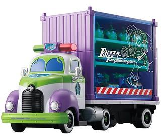 """TOMICA《玩具總動員》巴斯光年『""""雙層"""" 展示收納卡車』來囉!"""