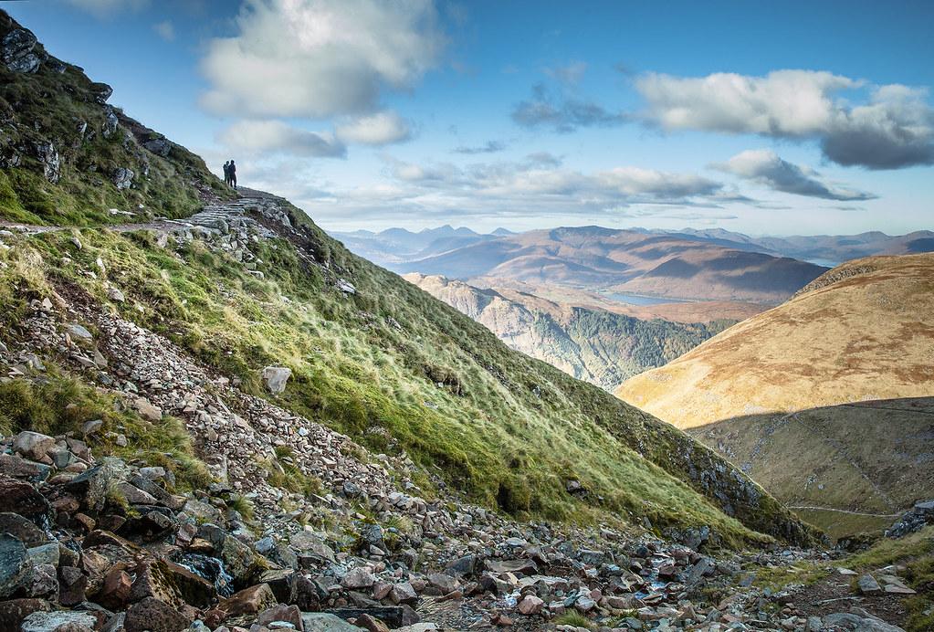 The path up Ben Nevis