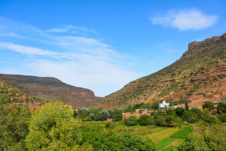 Vallée fertile de l'oued Khemis