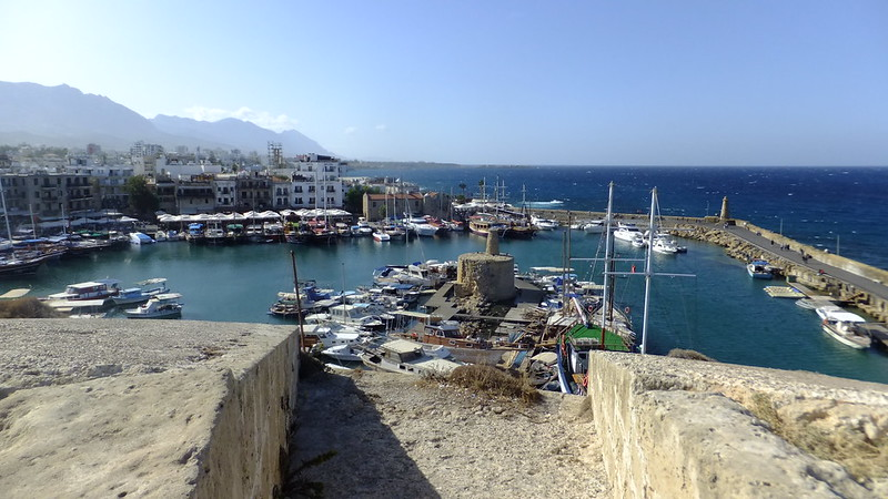 The Harbour from the top of Kyrenia Castle