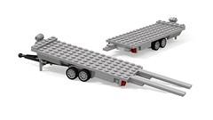 Anhänger Fahrzeugtransport (Vehicle transport trailer) FT2 6x16 1.0