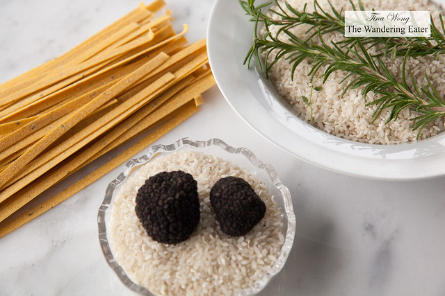 Starches to cook with the truffles