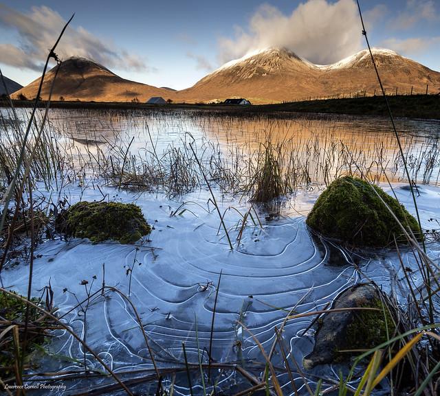 Frozen ripples, Nikon D5, AF-S Nikkor 16-35mm f/4G ED VR