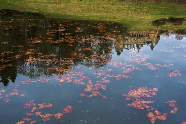 Castle and Autumn, Nikon D750, AF Nikkor 50mm f/1.8