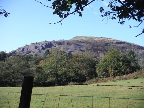 Cribarth Mountain across the Cwm Tawe