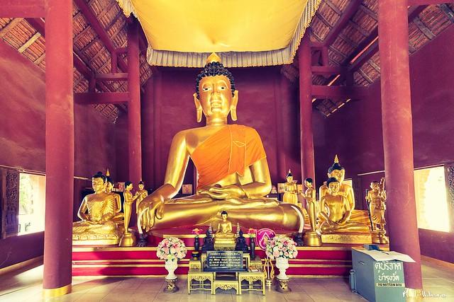 Buddha Wat Pra That Pukhao