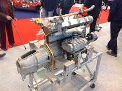 Bugatti Type 55 Super Sport engine (1932-35)
