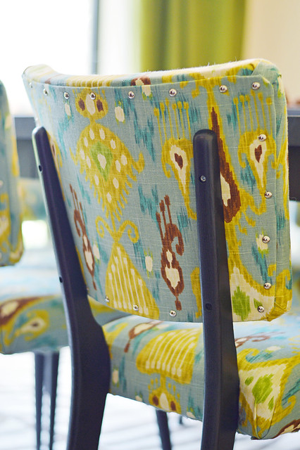 Our DIY Dining Room Chairs - It's Great to Be Home