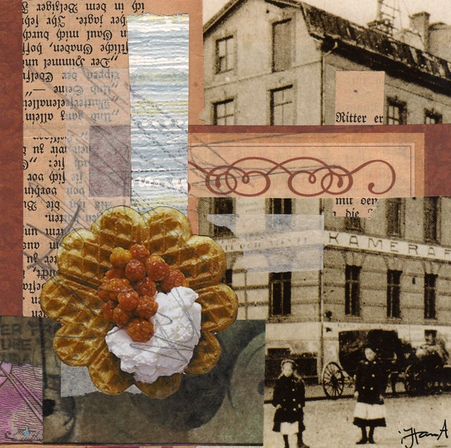 Collage: A Waffle Day