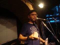 Juzee M, textstrom Poetry Slam