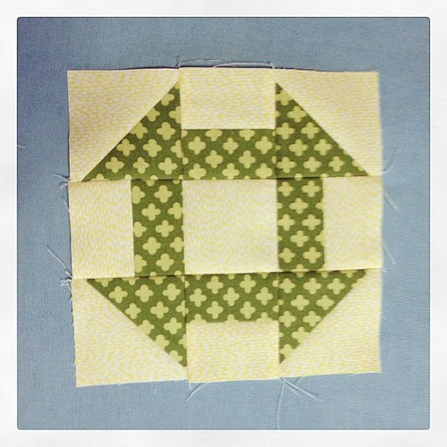 O.M.G. This block is so sweet and fun to make!!   First of many for Claire's placemats!