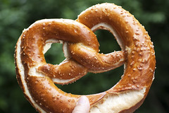 butter pretzel from brezelkonig