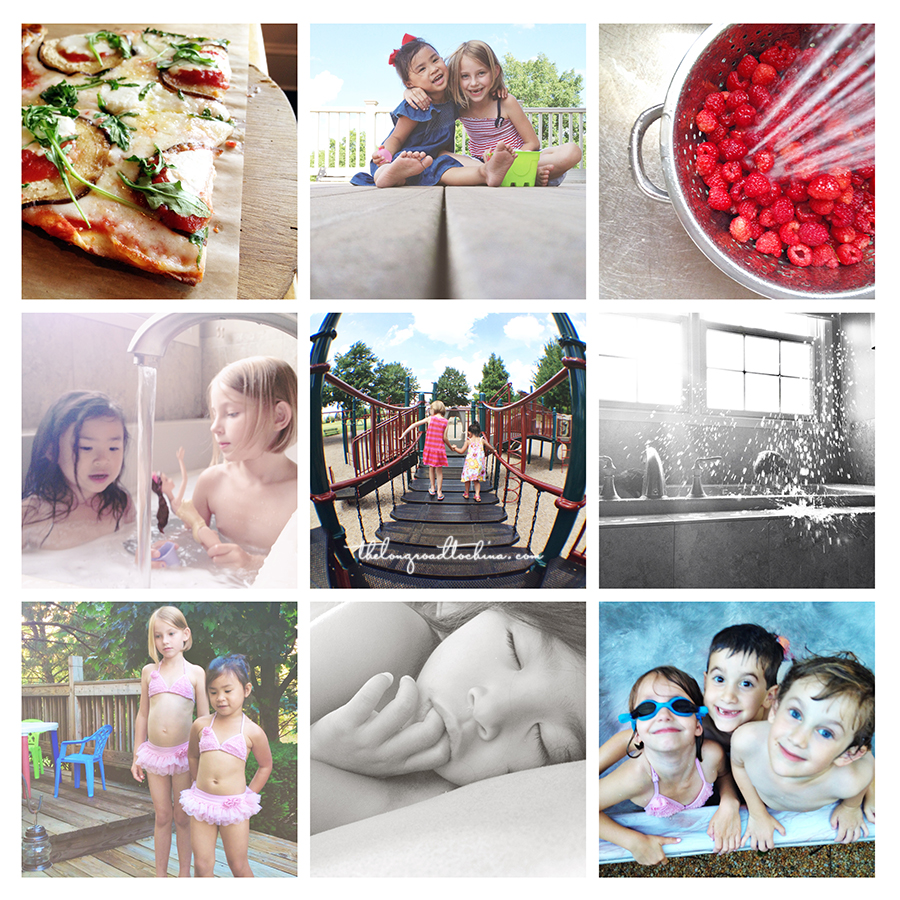IG JULY COLLAGE BLOG