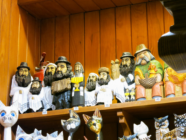 Wooden Jews.