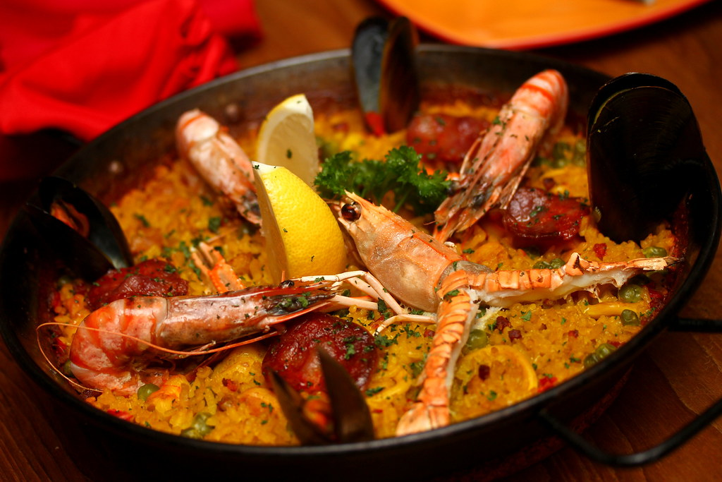Little Spanish Place's Paella de la Casa