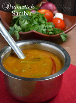 Drumstick Sambar Murungakkai Sambar Recipe