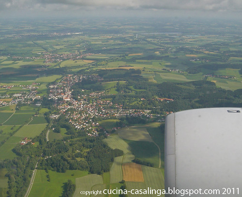 Anflug Muenchen