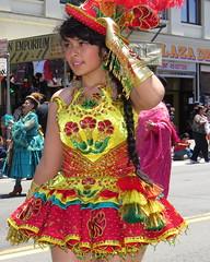 37 Bolivia Unida MORENADA Virgin de Copacabana Los Angeles      456