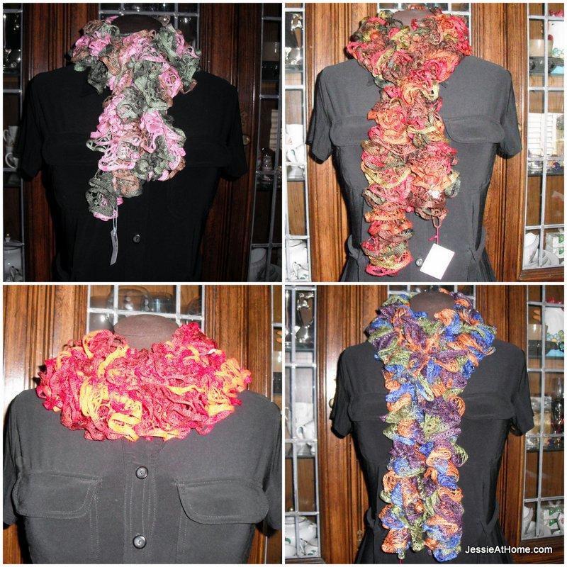 Net-Yarn-Spiral-Crochet-Scarf-Free-Crochet-Patttern