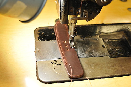 Mitchell Compact Briefcase: Buckle Step 2
