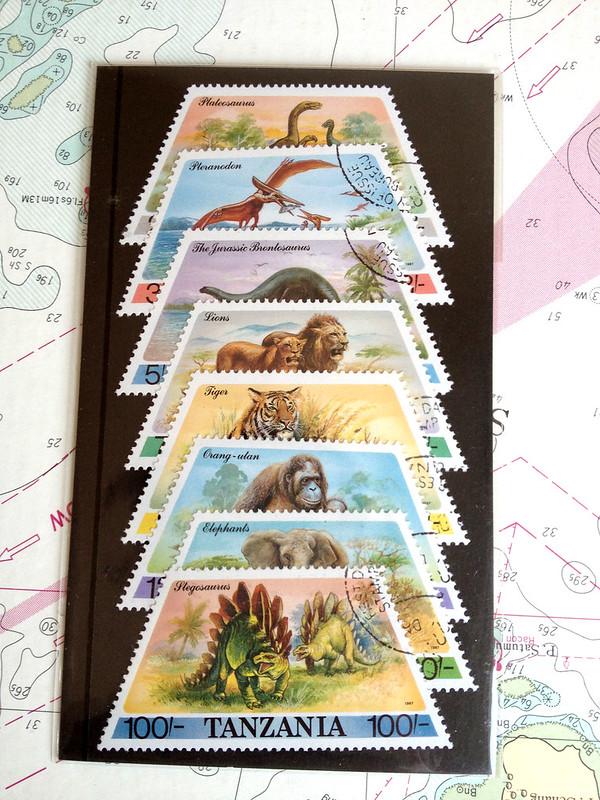 タンザニア動物切手