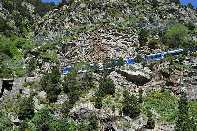 Train Ribes to Nuria