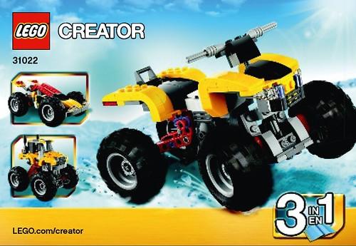 LEGO Creator Quad Bike (31022)