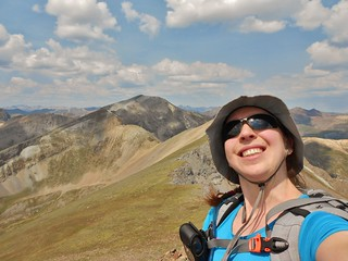 Clare on Summit of Pt 13,795