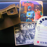My Batman Robin Viewmaster 3D Viewer And Reels 1966