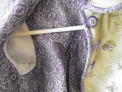 Sleeve lining detail corduroy jacket