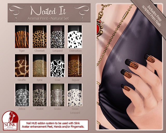 Nailed it Vendor - Animal Print - Natural Set