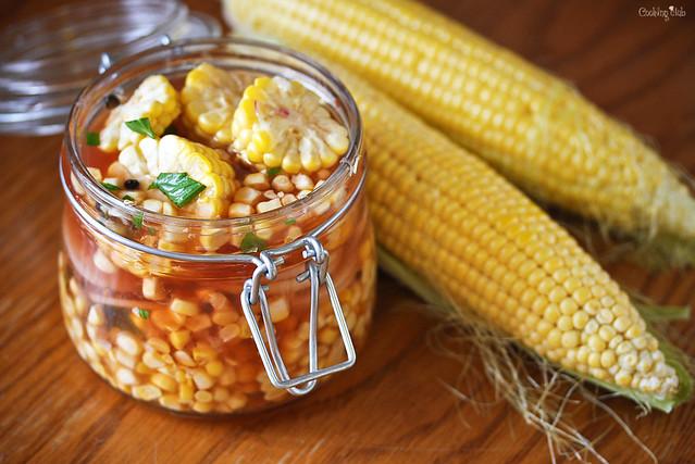 маринованная кукуруза рецепт