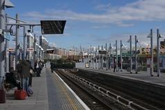 Poplar Station Looking East