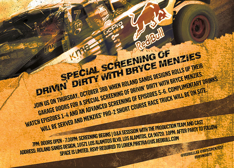 9935581675 2a2f0c809a b Advanced screening of Drivin Dirty with Bryce Menzies