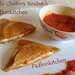 red chutney sandwich