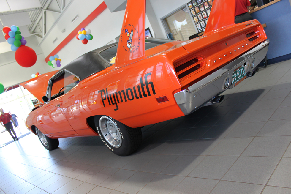 AutoNation Dodge Ram - Plymouth Roadrunner Rear