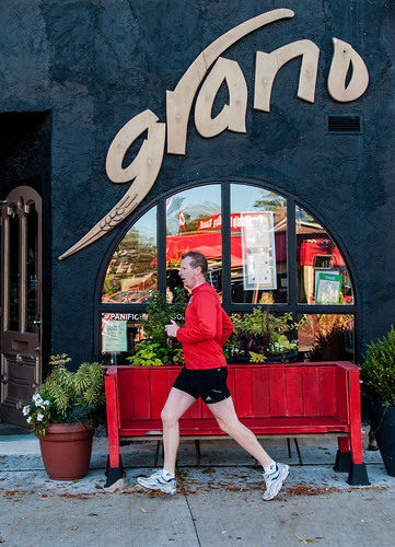 Grano and the red morning runner - #288/365 by PJMixer