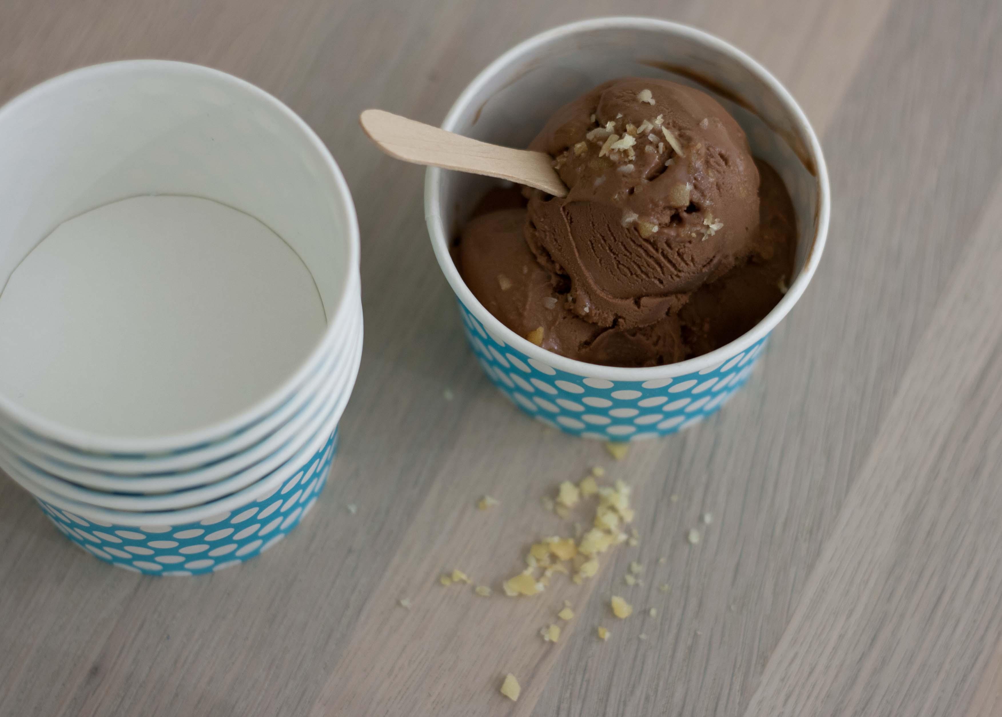 Opskrift på hjemmelavet chokoladeis