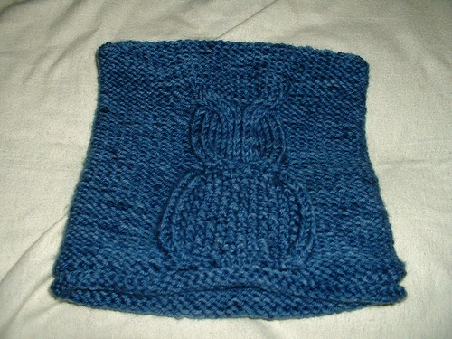 tommys blue owl hat 10-22-13