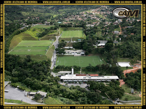 Vista aérea da Cidade do Galo.