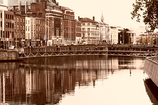 The River Liffey, Dublin, Ireland