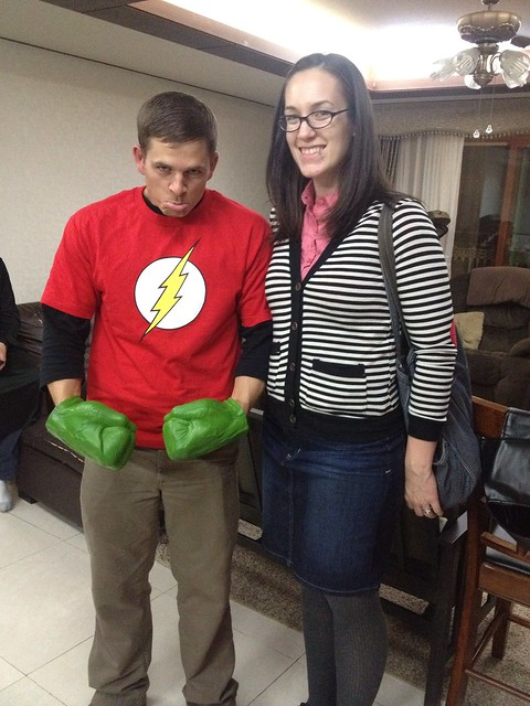 sheldon and amy costume