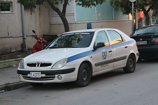 Police on a budget.  (Greece)